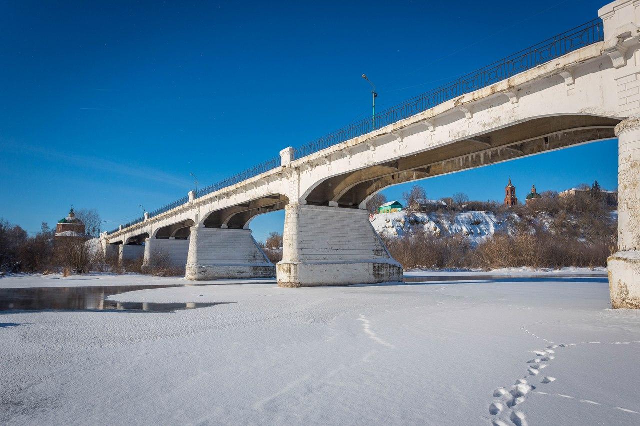 Казённый мост через р. Дон (1910 г.). Февраль, 2017 год.