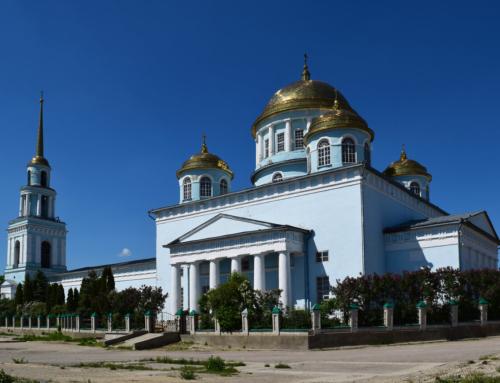 Ново казанский собор Лебедянь