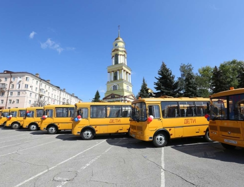 Школы региона получили новые автобусы
