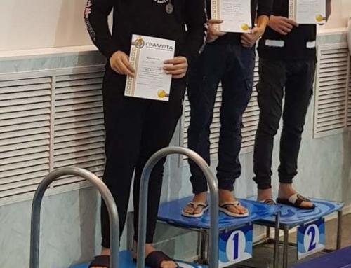 Лебедянские чемпионы по плаванию